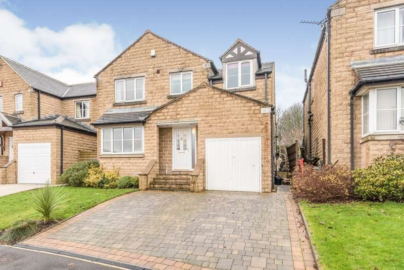 5 Bedrooms Detached House for sale in Upper Hall View, Northowram, West Yorkshire, HX3