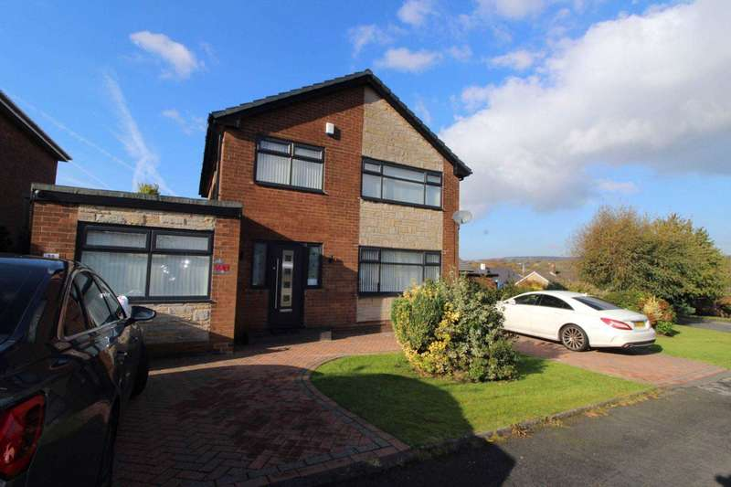 4 Bedrooms Detached House for sale in Lakelands Drive, Bolton