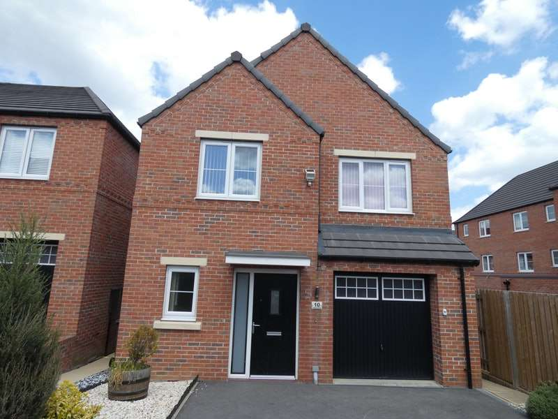 4 Bedrooms Detached House for sale in Avocet Close, Mexborough, South Yorkshire, S64