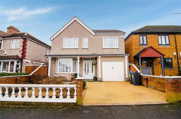4 Bedrooms Detached House for sale in Milner Road, Morden, Surrey