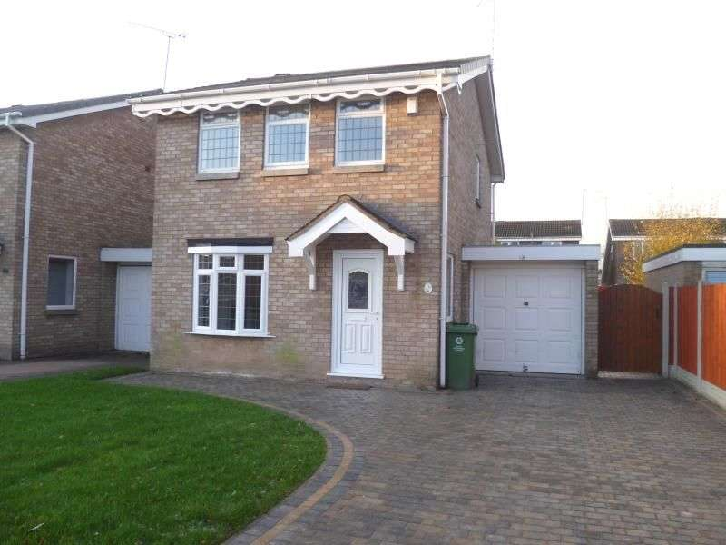 3 Bedrooms Detached House for rent in Mercia Drive, Perton, Wolverhampton, WV6