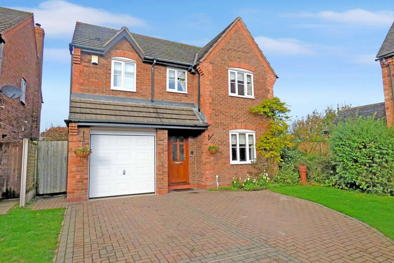4 Bedrooms Detached House for sale in Rake End Court, Hill Ridware