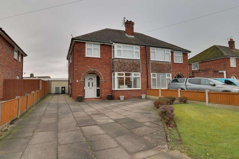 3 Bedrooms Semi Detached House for sale in Hubert Drive, Middlewich, CW10 0AB
