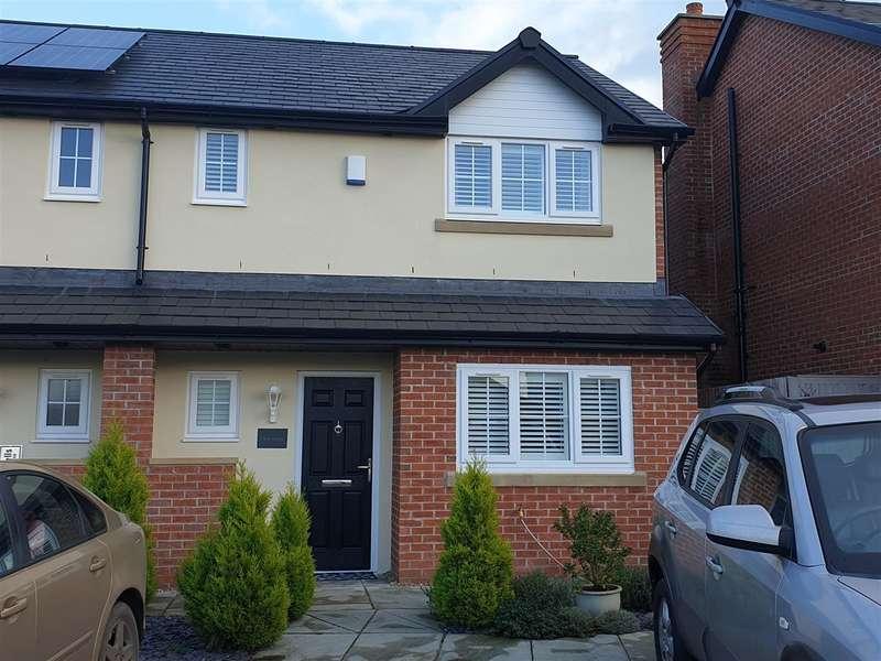 3 Bedrooms Semi Detached House for sale in Eliot House, Chorlton Lane, Malpas