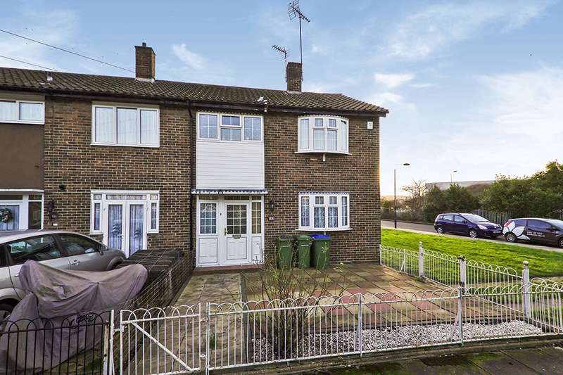 2 Bedrooms End Of Terrace House for sale in Church Manorway, London, SE2