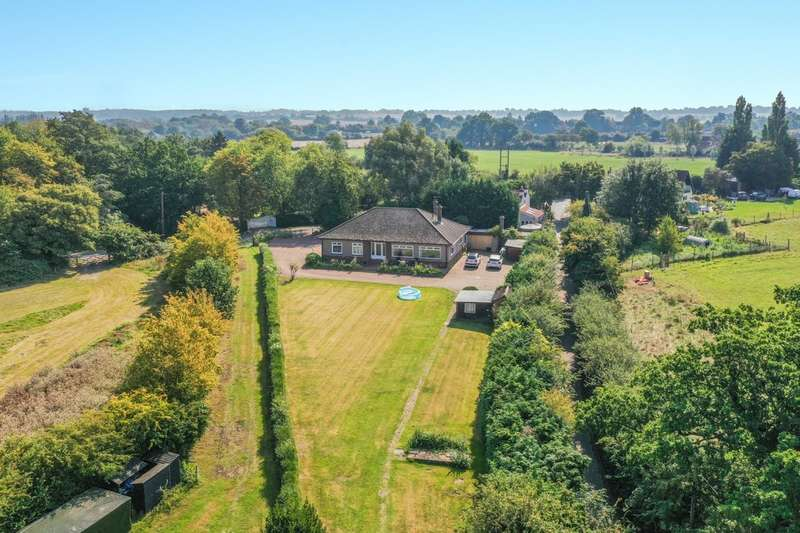 4 Bedrooms Detached Bungalow for sale in Betts Lane, Nazeing - Detached Bungalow With 4.5 Acres