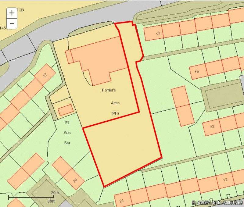 Property for sale in Land south of the Farrier Arms, Shilbottle