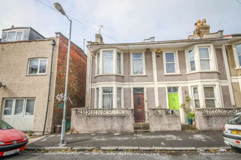 3 Bedrooms End Of Terrace House for sale in Paultow Road, Victoria Park, Bristol, BS3 4PT