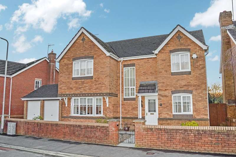 4 Bedrooms Detached House for sale in 17 Pant Y Rhedyn, Margam Village, Port Talbot, Neath Port Talbot. SA13 2SZ