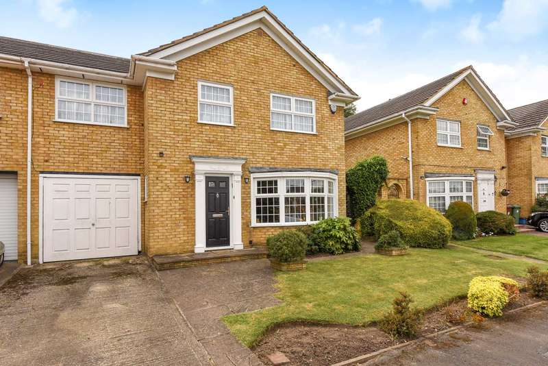 4 Bedrooms Link Detached House for sale in Hartfield Avenue, Elstree