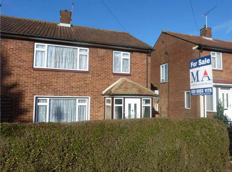 3 Bedrooms Semi Detached House for sale in Hillside Avenue, Borehamwood