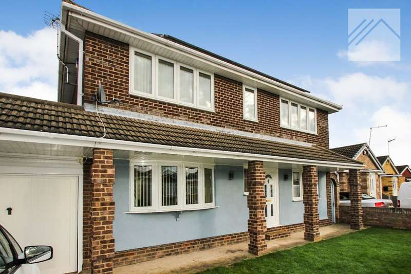 4 Bedrooms Detached House for sale in Hernen Road, Canvey Island
