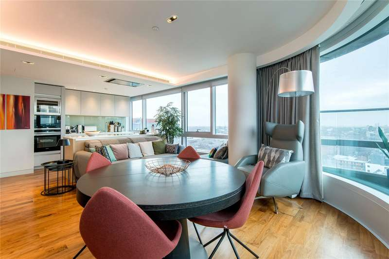 2 Bedrooms Apartment Flat for sale in Canaletto, 257 City Road, EC1V