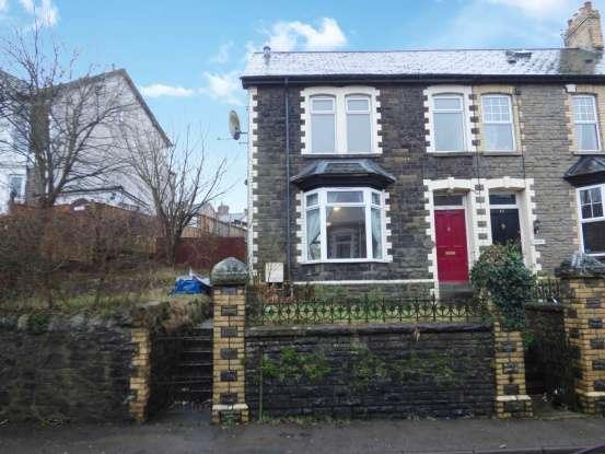 Semi Detached House for sale in Wainfelin Road, Pontypool, Monmouthshire, NP4 6DE