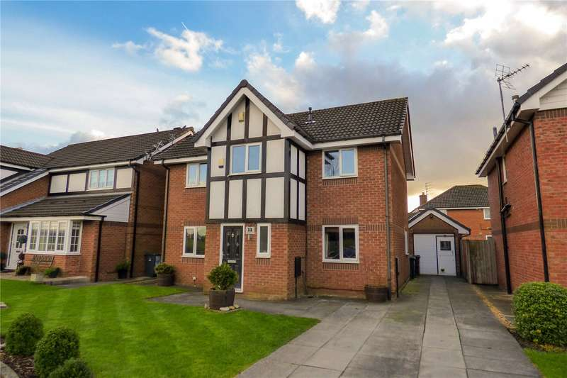 4 Bedrooms Detached House for sale in Goldfinch Way, Droylsden, Manchester, Greater Manchester, M43