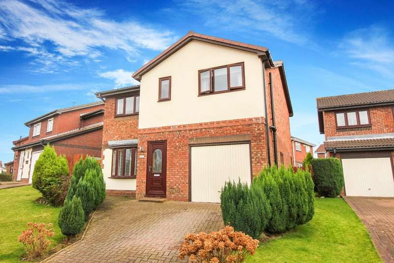 4 Bedrooms Detached House for sale in North Drive, Hebburn