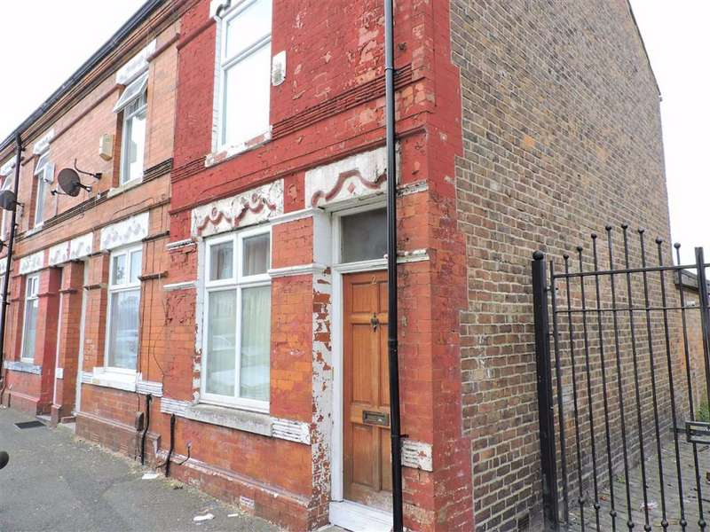 2 Bedrooms End Of Terrace House for sale in Delafield Avenue, Manchester