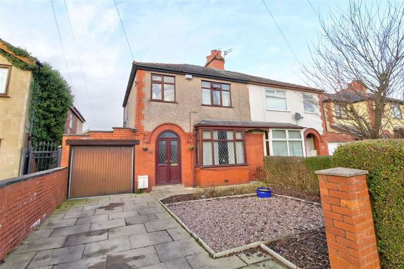 3 Bedrooms Semi Detached House for sale in Cadley Causeway, Fulwood, Preston