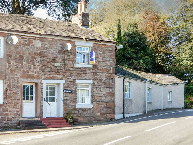 3 Bedrooms End Of Terrace House for sale in Springbank, The Square, Holmrook, Cumbria