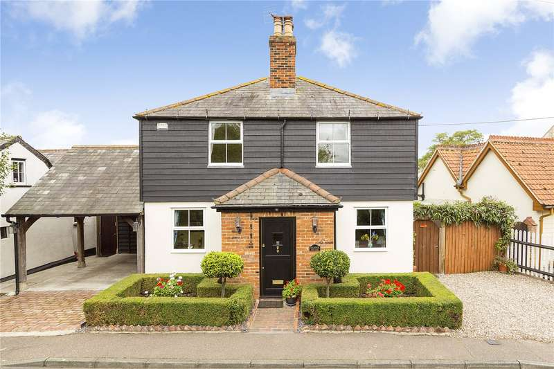 3 Bedrooms Detached House for sale in Church Road, Rawreth, Wickford, Essex, SS11