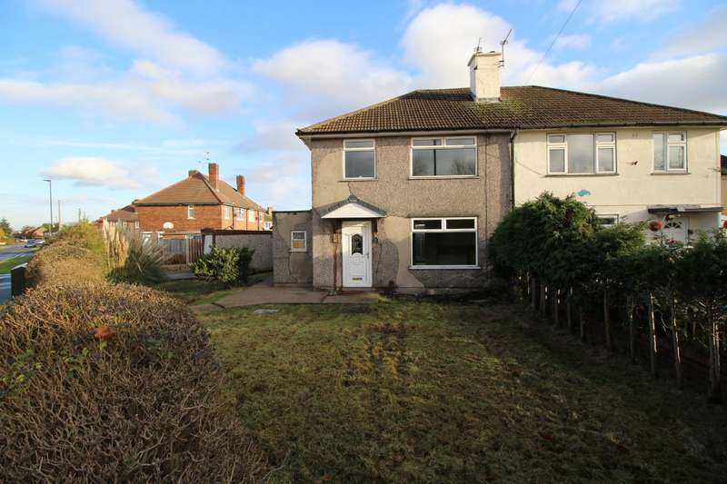 3 Bedrooms Semi Detached House for sale in Shackleton Road, Clay Lane, Doncaster, DN2