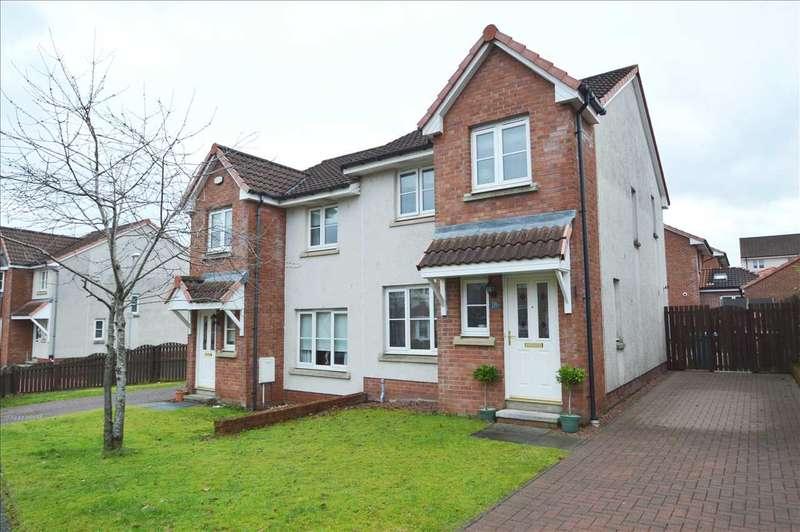 3 Bedrooms Semi Detached House for sale in Brambling Road, Coatbridge