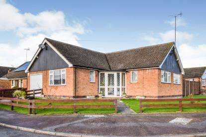 3 Bedrooms Bungalow for sale in Kilby Drive, Wigston, Leicester, Leicestershire