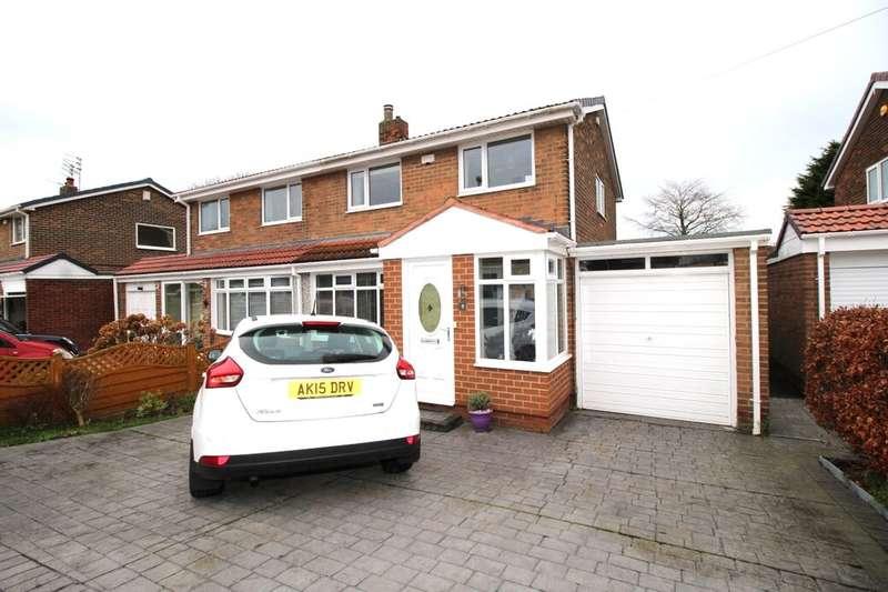 3 Bedrooms Semi Detached House for sale in Ettrick Road, Jarrow, NE32