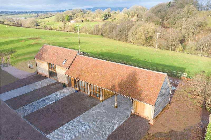4 Bedrooms Barn Conversion Character Property for sale in Lower Bank Barns, Nr Tenbury Wells, Worcestershire, WR15