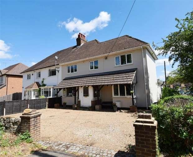 6 Bedrooms Semi Detached House for sale in Innisfree, Childsbridge Lane, Seal, SEVENOAKS, Kent