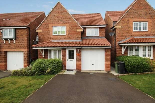 3 Bedrooms Detached House for sale in Windlass Drive, Wigston, Leicestershire, LE18 4NW