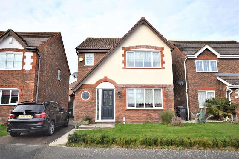 3 Bedrooms Detached House for sale in Swale Close, Stone Cross, Pevensey, BN24