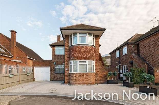 2 Bedrooms Maisonette Flat for sale in Welbeck Close, Ewell Village