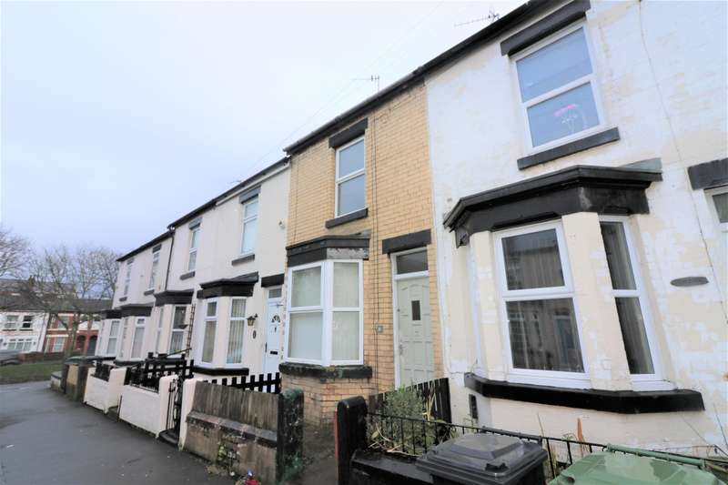 2 Bedrooms Terraced House for sale in Woodville Road, Birkenhead, CH42 9LX
