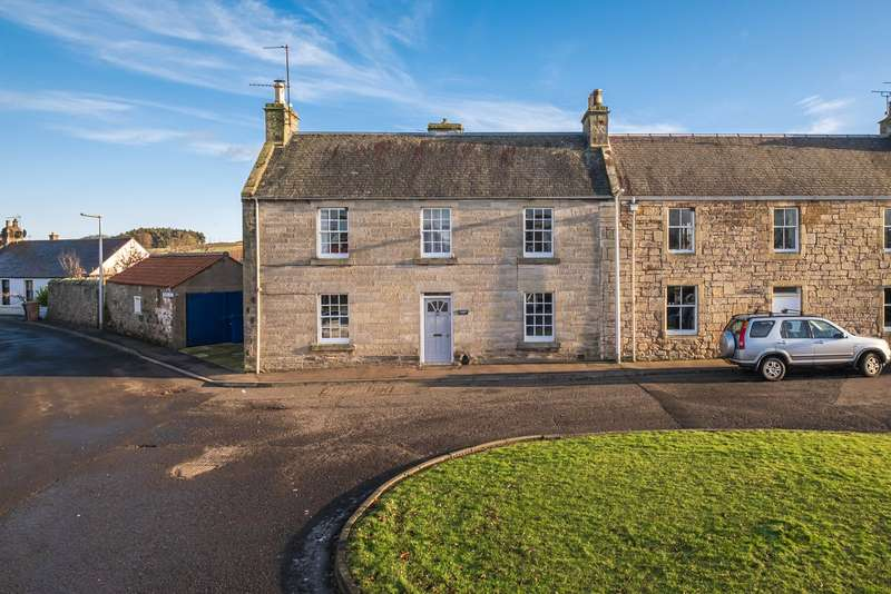 4 Bedrooms End Of Terrace House for sale in Castlebank House, Anstruther Road, Ceres, Cupar, Fife, KY15