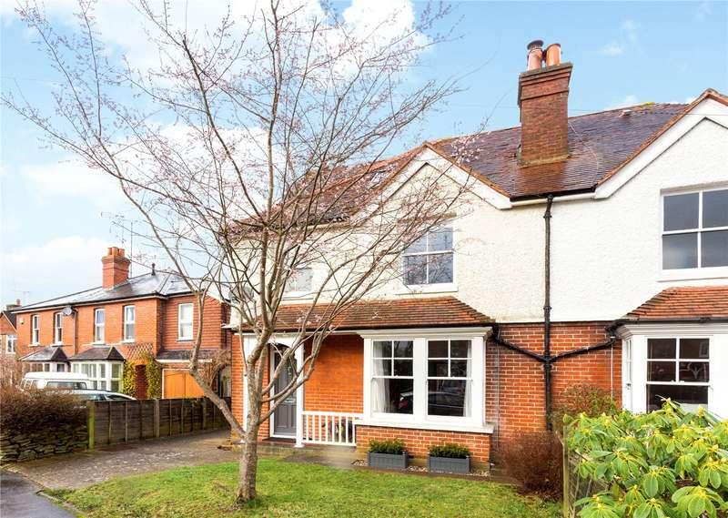 4 Bedrooms Semi Detached House for sale in Duncombe Road, Busbridge, Godalming, Surrey, GU7