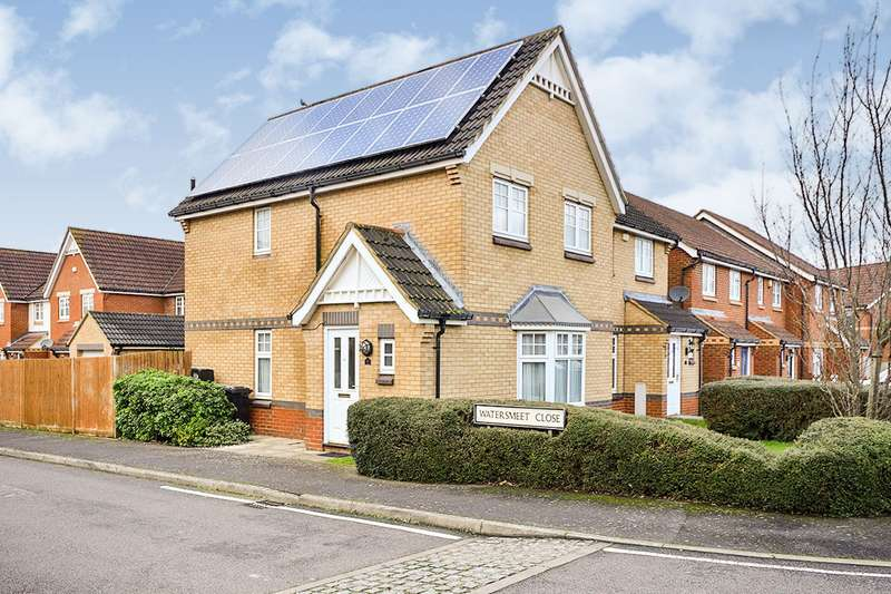 3 Bedrooms Semi Detached House for sale in Watersmeet Close, Maidstone, Kent, ME15