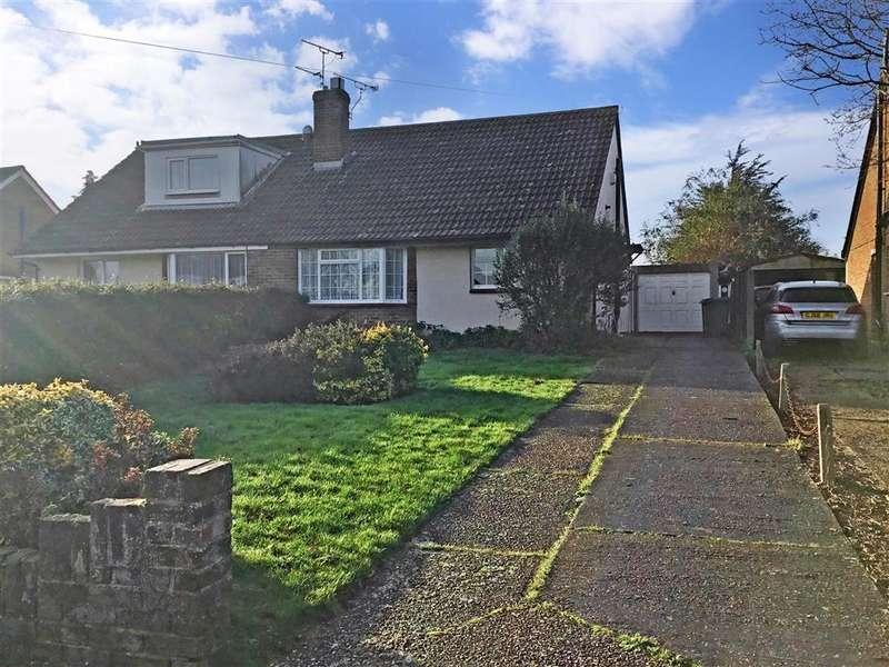 2 Bedrooms Semi Detached Bungalow for sale in Palmarsh Avenue, , Hythe, Kent