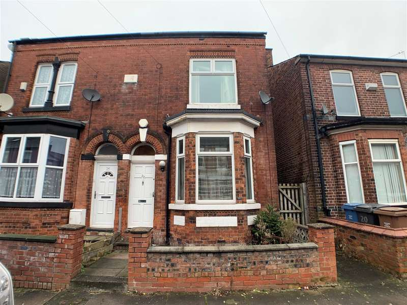 2 Bedrooms Semi Detached House for sale in Gleaves Road, Eccles, Manchester