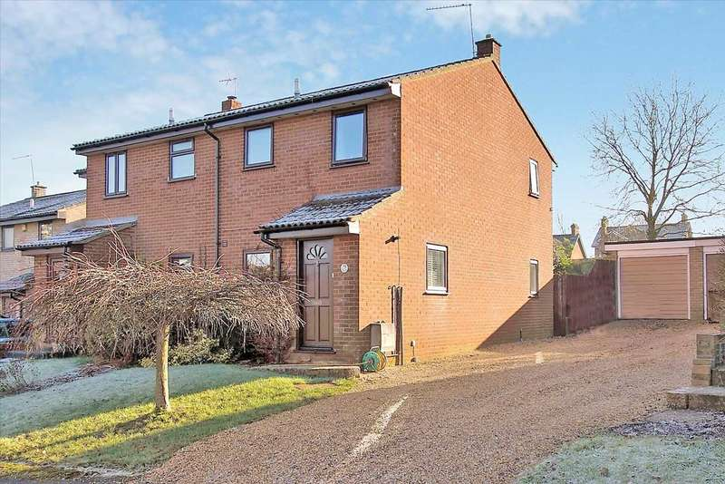 3 Bedrooms Semi Detached House for sale in Above Town, Upper Clatford, Andover