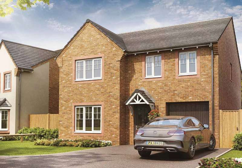4 Bedrooms Detached House for sale in Plot 34, The Eynsham, Meadowbrook, Durranhill, Carlisle, CA1