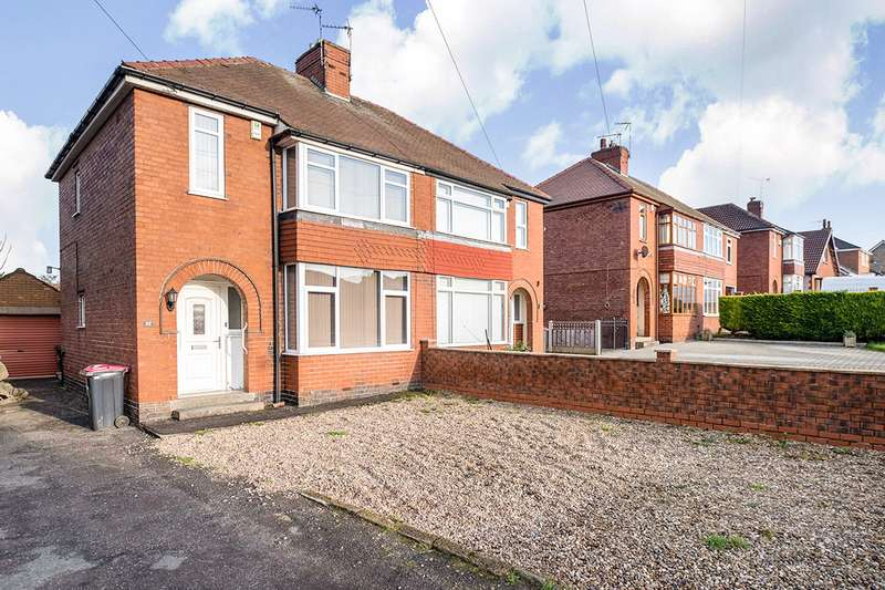3 Bedrooms Semi Detached House for sale in Swinston Hill Road, Dinnington, Sheffield, South Yorkshire, S25
