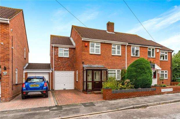 4 Bedrooms Semi Detached House for sale in Caversham Close, Southampton, Hampshire