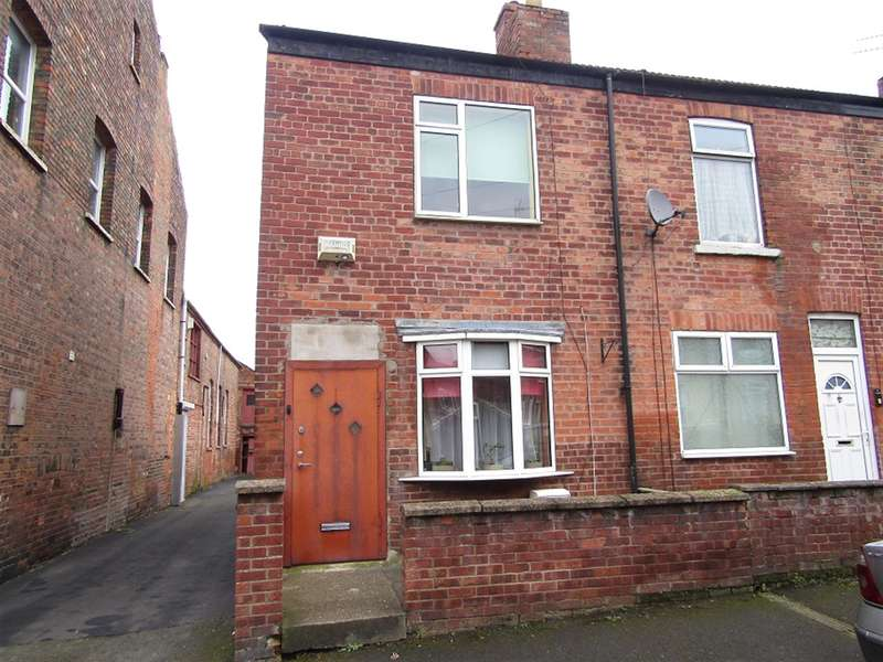 2 Bedrooms Terraced House for sale in Lewis Street, Gainsborough, DN21 2AB