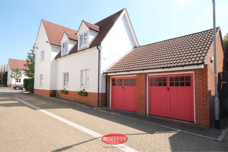 4 Bedrooms Detached House for sale in Greenwich Way, Waltham Abbey