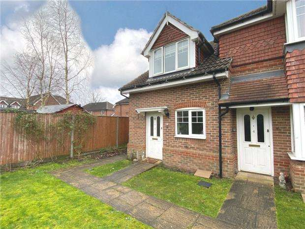 2 Bedrooms End Of Terrace House for sale in Madeira Court, St. Johns Road, Farnborough