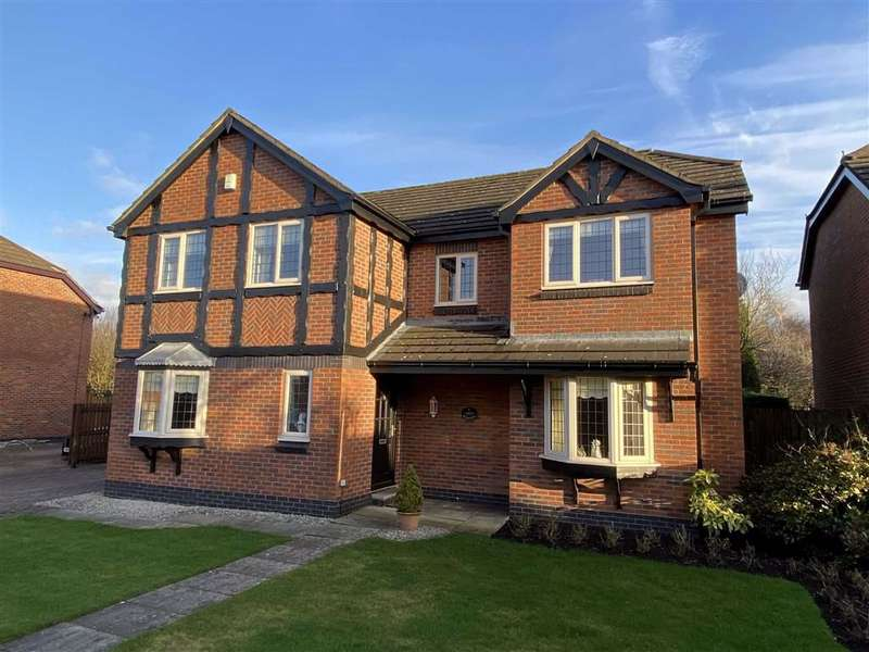 4 Bedrooms Detached House for sale in Mendip Close, The Belfry, Lytham