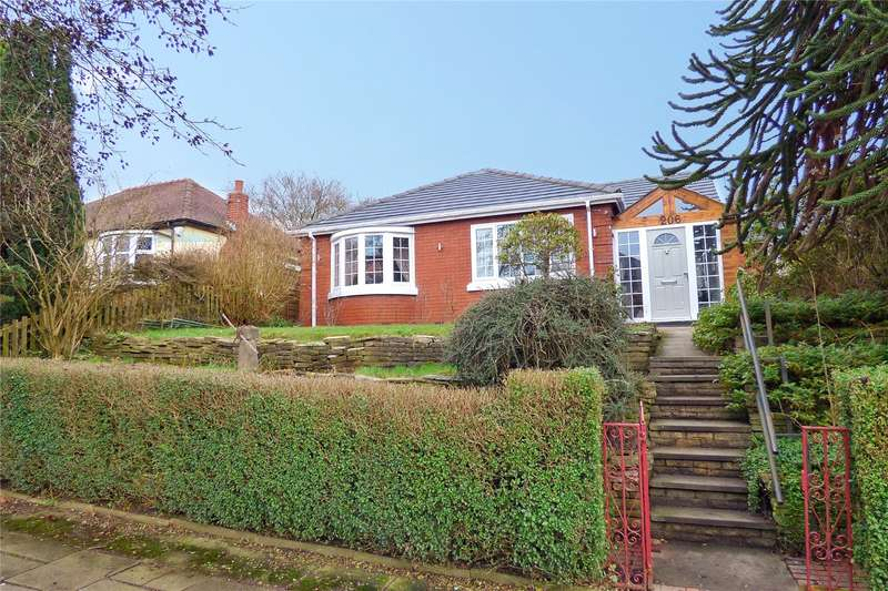 3 Bedrooms Detached Bungalow for sale in Heywood Old Road, Bowlee, Middleton, Manchester, M24