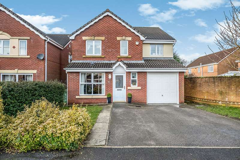 4 Bedrooms Detached House for sale in Deighton Close, Orrell, Wigan, Lancashire, WN5