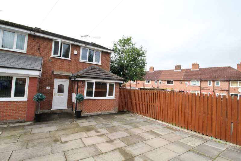 2 Bedrooms End Of Terrace House for sale in Marford Close, Manchester, M22